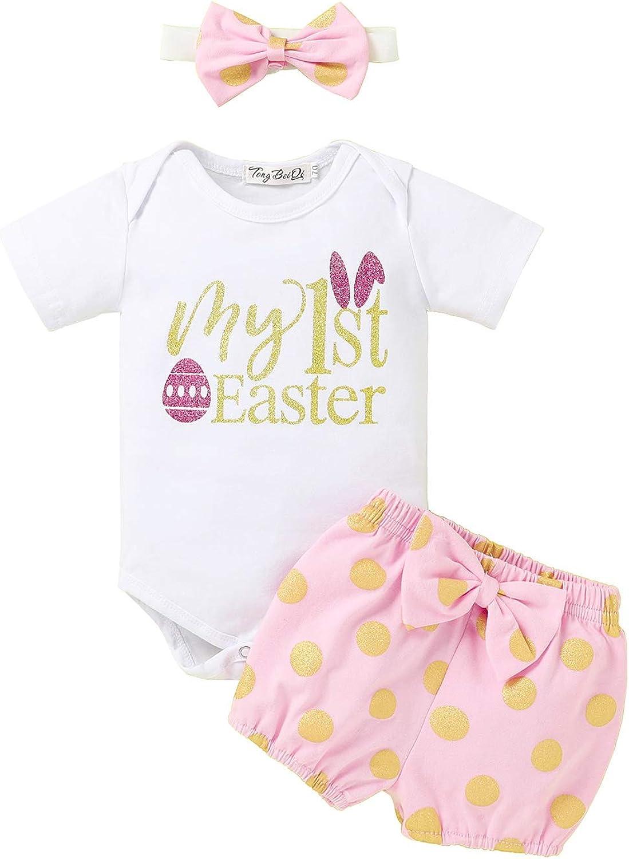 Newborn Baby Girls Easter Cheap Outfit Set Sleeve Toddler Girl R Short Over item handling ☆