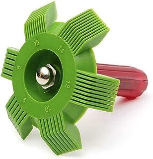 ColorfulLaVie Aire Acondicionado Reparación de Aletas Peine Condensador Radiador Evaporador Limpiar Cepillo Enderezar Eliminar escombros sin Peligro de pinchazo