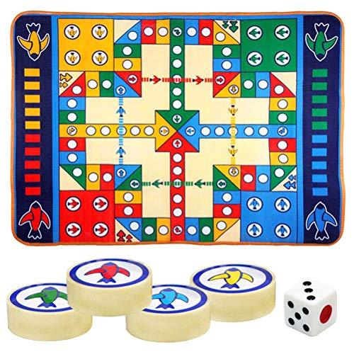 Juego Brain WOQOOK de plástico para niños, juego de ajedrez, juego de ajedrez, alfombra de juegos interactivos para familia, juguetes coloridos