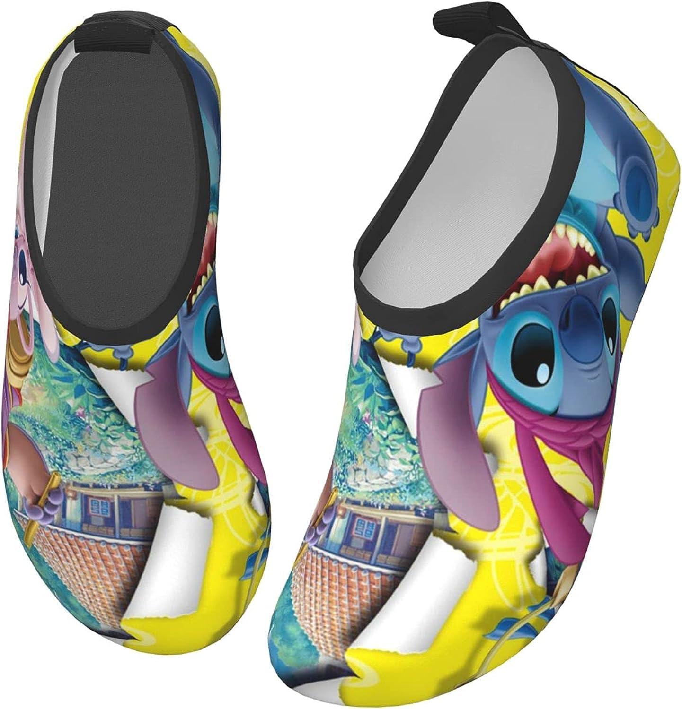 Stitch Kids Water Sports Shoes Non-Slip Quick Dry Barefoot Aqua Socks Beach Swimming Surf Walking for Boys Girls