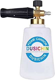DUSICHIN SFL-203 Snow Foam Lance Foam Cannon Pressure Washer Jet Wash Quick Release Adjustable 67 OZ Capacity Bottle