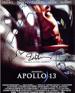 ◆直筆サイン ◆アポロ13 ◆APOLLO 13 (1995) ◆トム ハンクス as ジム ラヴェル ◆Tom Hanks as Jim Lovell ◆ゲイリー シニーズ as ケン マッティングレイ ◆Gary Sinise as Ken...