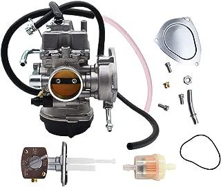 Carburetor Carb for Suzuki LTZ400 LTZ 400 Quad ATV with Fuel Valve Petcock 2003-2007