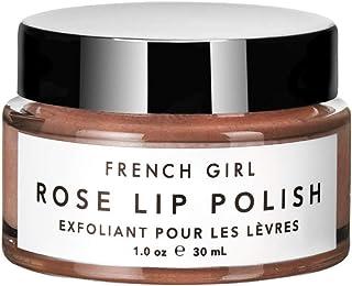 French Girl Rose Lip Polish Scrub 1 oz/ 30 mL, Lip Exfoliator, Clean, Organic, Vegan, Sugar Scrub, Shea But...
