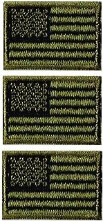 アメリカ国旗ワッペン 星条旗SS-OD-3枚セット