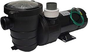 Landshark LS5500 High Efficiency 1.5 Horsepower External Water Pump. 5,575 Gallons Per Hour Maximum Flow Rate