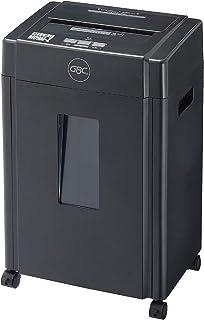 GBC シュレッダー 静音 オフィス用 極小細断 マイクロクロスカット 最大細断枚数10枚 連続使用約10分 CD/DVD/プラスチックカードも細断可能 ホチキス対応 ダストボックス20L A4/約360枚収容 マイクロカットシュレッダ GSH...