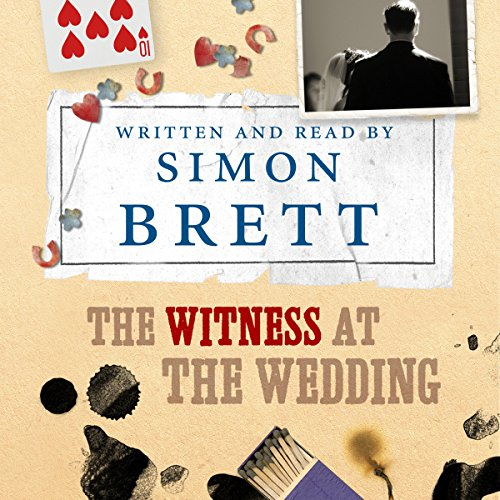 The Witness at the Wedding audiobook cover art