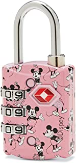 American Tourister Disney TSA 3-Dial Combination Luggage Lock, Mickey & Minnie Kiss, One Size,122893-5280