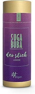 Suga Buba Bio Desodorante en Barra Para Hombres, Mujeres y Niños, Protección Natural Contra el Sudor de Larga Duración, Si...