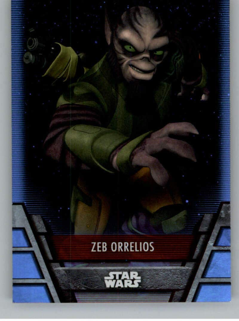 Popularity 2020 Topps Star Wars Holocron Zeb #PX-5 Orrelio Series Foilboard OFFicial shop