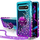 Silverback Galaxy S10 5G Case, Moving Liquid Holographic Sparkle...