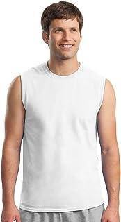 Gildan Men's Ultra Cotton Double Needle Sleeveless T-Shirt