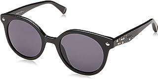 Max & Co. Women's MAX&CO.356/S IR 807 49 Sunglasses, Black/Grey Grey