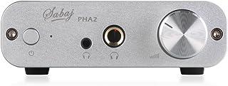 Sabaj PHA2 ポータブル デジタル ヘッドフォンアンプ デスクトップ Hifi オーディオ AMP TPA6120A2 RCA/3.5mm/6.35mm 出力 銀