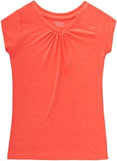 girls coral top