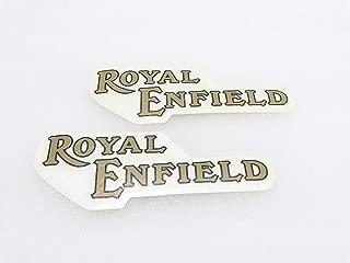 Royal Crusaders ROYAL ENFIELD GOLDEN STICKER (PAIR) FOR PETROL TANK