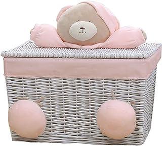 LF- Panier de rangement sale pour salle de bain - Panier de rangement pour vêtements sales - Seau de rangement pour vêteme...