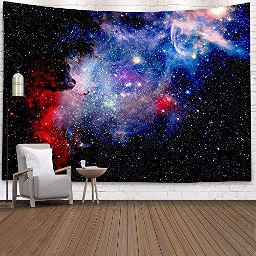 KHKJ Cósmico Cielo Estrellado decoración psicodélico Tapiz Colgante de Pared Indio Mandala Tapiz Hippie Tapiz Boho Pared a9 230 * 180 cm