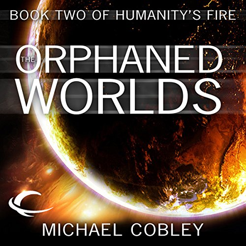 The Orphaned Worlds audiobook cover art