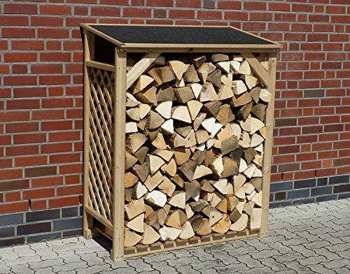 Promadino Kaminholzregal Speyer Natur