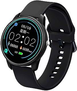 Smart Watch,Reloj Inteligente Hombre Mujer con Pulsómetro,Reloj Deportivo con Pantalla 2.5D de 1.08 Pulgadas,Monitoreo La Salud del Sueño,Soporte iOS Android