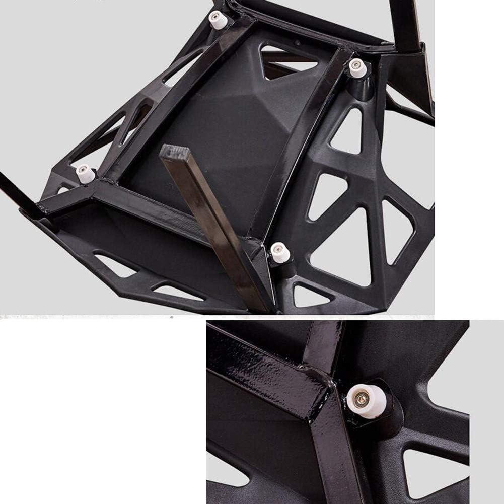 WYYY chaise de Bureau Mode Chaise De Salle À Manger Dortoir Étudiant Moderne Plastique Conférence Durable Fort (Couleur : Orange) Noir