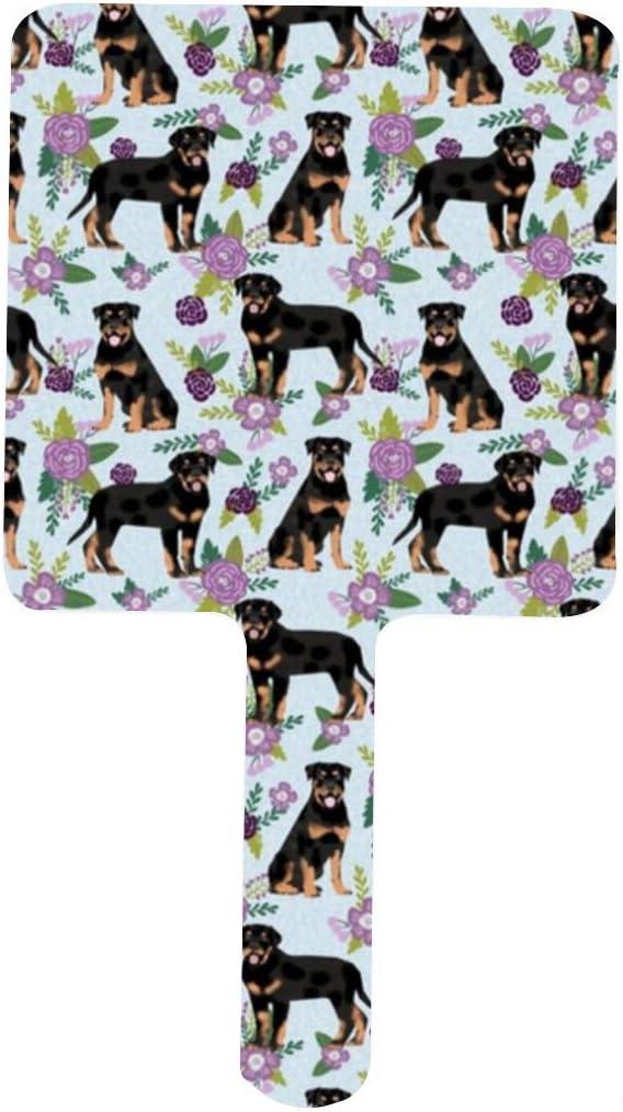 Rottweiler Dog Floral online shop Cute Pet Handle Blue Dogs Virginia Beach Mall Mir Portable