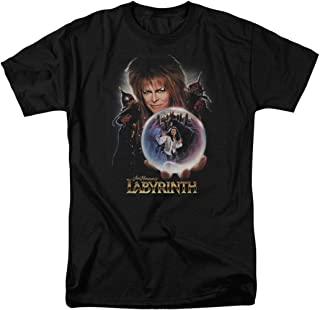 Labyrinth Goblin King Crystal Ball T Shirt & Stickers