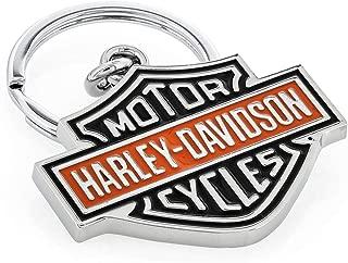 Harley Davidson Car Truck SUV Key Chain Metal - Colored Bar & Shield Logo
