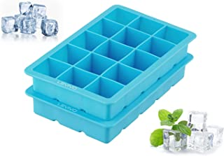 LEVIVO Molde, Silicona, Azul, 19x12x4 cm, 2 Unidades