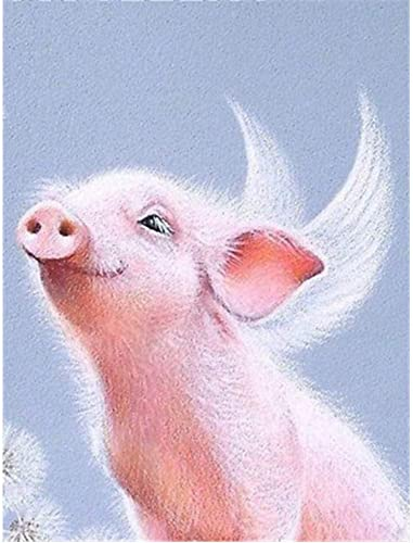 venta XIGZI XIGZI XIGZI Diamante Pintura Cerdo 5D Bricolaje Punto de Cruz Animal Artesanía Hogar Habitación de los Niños Decoración de la Sala Sin Marco  hasta un 50% de descuento