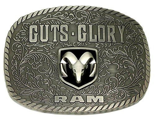 Dodge Ram Belt Buckle Guts Glory Authentiek Officieel gelicenseerd product in Collectors Edition Box Spec Cast Collectibles