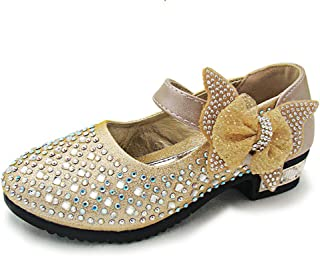 6cb344db4140 YING LAN Little Big Girl Glitter PU Leather Mary Jane Shoes