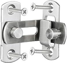 ZHANGJIAN 3/4 inch 90 graden rechter hoekdeur grendel HASP buiggrendel vat met schroeven voor deuren gesp glijdende slot s...