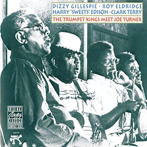 """Dizzy Gillespie, Roy Eldridge, Harry """"Sweets"""" Edison & Clark Terry"""