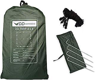 Dd Hammocks Tarp 4X4 - Olive Green