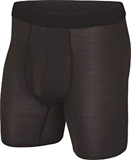 Terramar Sports Men's Transport Boxer Brief 6""