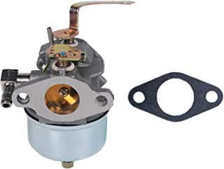 HIFROM Replacement Carburetor Carb with Gasket for Tecumseh 631918 HS40 4HP HS50 5HP Lawn Mower