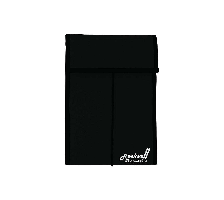 Creative Mark Rockwell Short Handled Artist Brush Easel & Storage Case Small - Black