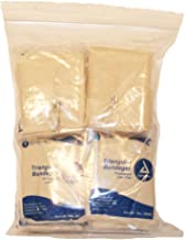 First Voice TS-3680 Latex Free Triangular Bandage with Safety Pin, 56