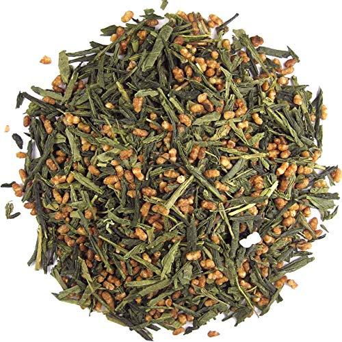 Genmaicha (popcorn) thee, groene thee, 100 gram losse thee