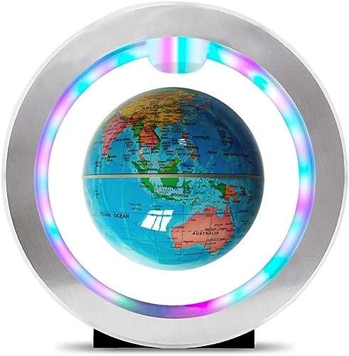 SEVEN LIFE Magnetschwebebahn Globus Kreatives Zuhause Handwerk Dekoration Praktische High-End-Geburtstagsgeschenke ( Farbe   Light Blau , Größe   S )
