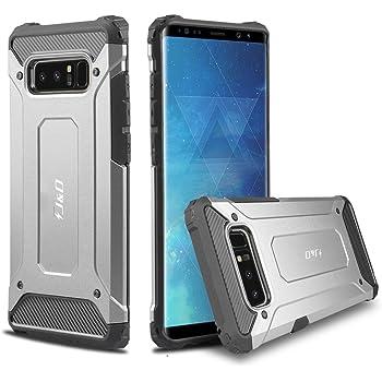 J&D Compatible para Galaxy Note 8 Funda, [Armadura Delgada] [Doble ...