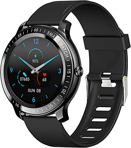 Smart Watch for Women Men,ZEEKER Fitness Tracker Watches for Android/iOS with Sleep Heart Rate Monitor and Blood Oxygen,5 ATM Waterproof Smartwatch...