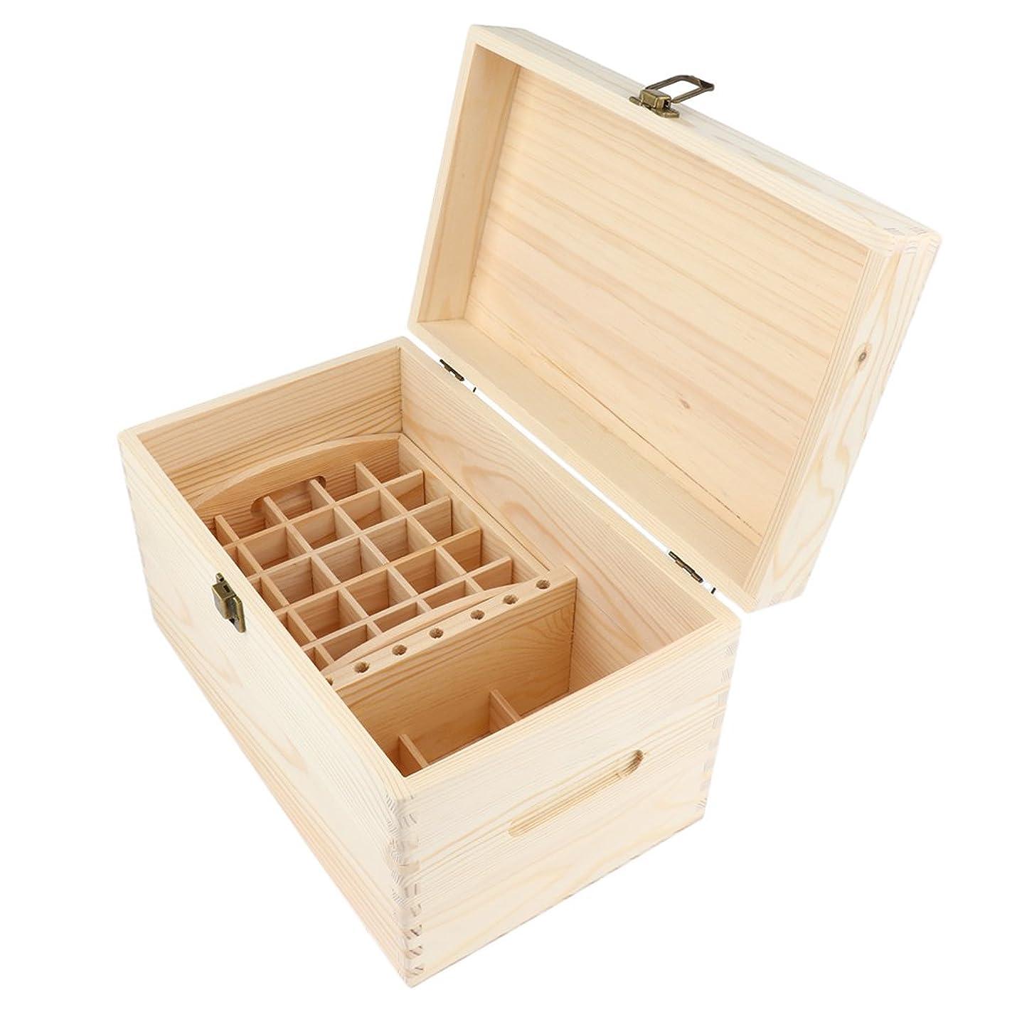 送る扱うフェードBaoblaze オイル 精油 木製ボックス 収納ケース トレイ オーガナイザー ディスプレイホルダー 収納容器 2サイズ - 30 x 18.5 x 18.5 cm