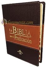 La Biblia para la Predicación RVR60 - Letra Grande, imitación piel duotone, indice, canto dorado (Spanish Edition)