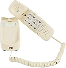 Corded Phone - Senior Landline Phones for Home – Home Phones for Seniors - Hearing and Vision Impaired, Loud Ringer, Large Backlit Keypad -Voice Amplification Wall Mount Ready! Bone Ivory-iSoHo Phones