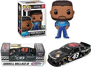Bubba Bring The Country Together: Bubba Wallace Nascar Funko Pop! 11 + Darrell Bubba Wallace Action Racing Black Lives Mat...