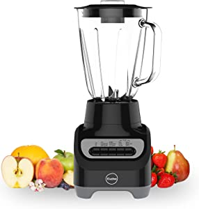iCucina Countertop Blender with 1500ml Glass Jar 700W Total Crushing Technology for Smoothies,Puree,Shakes and Frozen Fruit La Licuadora